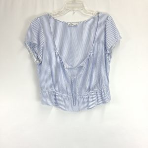 Hollister Tie-Front Cropped Top